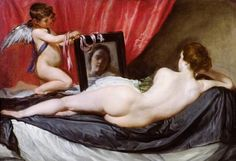 """""""The Rokeby Venus"""" by Diego Velazquez (1647-51) Art Experience NYC www.artexperiencenyc.com/social_login/?utm_source=pinterest_medium=pins_content=pinterest_pins_campaign=pinterest_initial"""