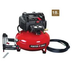 Porter-Cable 6 Gal. 150 PSI Portable Air Compressor-C2002 - The Home Depot