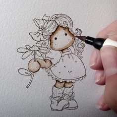 Cards By Becky: Distress Ink Marker Tutorial