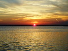 Sunset over Nichupte Lagoon in #Cancun as seen from the Sunset Marina Resort & Yacht Club