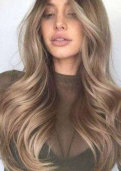 Dark Blonde Hair Color, Blonde Hair Looks, Brown Blonde Hair, Hair Color And Cut, Dark Blonde Hair With Highlights, Carmel Blonde Hair, Blonde Hair For Brunettes, Dark Caramel Hair, Beige Blonde Hair Color