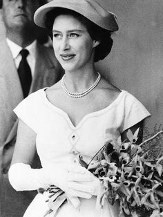 Princess Margaret's eye for style—and penchant for parties in particular—made her very popular with the press. Vogue takes a look back at the royal's most stylish moments Queen's Sister, Mode Chanel, Duchess Of York, Isabel Ii, British Royal Families, Queen Mother, English Royalty, Queen, Queen Elizabeth