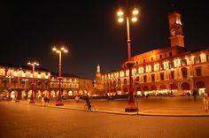 Forlì by Night (Piazza Saffi)