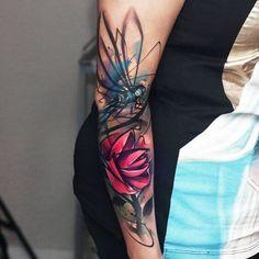 Arm Tattoos for Women - Ideas and Designs for Girls #armtattoosforwomen