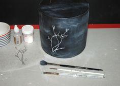 How to Create a Chalkboard Effect Cake!
