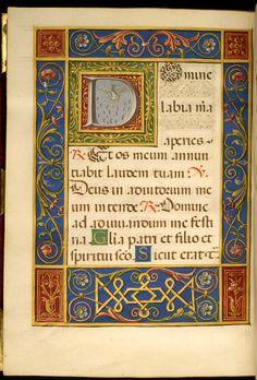 File:Francesco Marmitta - Leaf from Rangoni Bentivoglio Book of Hours - Walters W469212V - Open Reverse.jpg