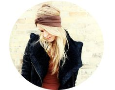 Turban Headband - Mocha Brown.  Twist turban headband, knot headband, turban head wrap, stretch turban