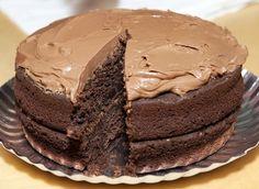 La deliciosa tarta de chocolate con moka-- una tarta imprescindible!
