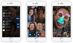 Facebook Messenger lance les tchats vidéo en direct de groupe