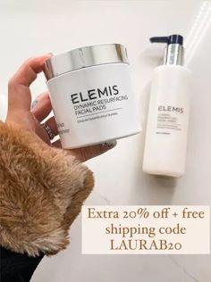 Elemis skincare 20% off #skincare #facewash #laurabeverlin
