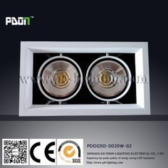 LED COB Recessed Downlight for Promotion 2015 (R0020)
