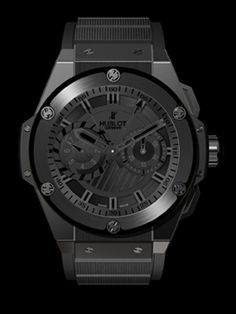 Image result for Hublot Big Bang King Power Foudroyante Black Magic ceramic Mens Watch 715.CI.1123.RX Watches