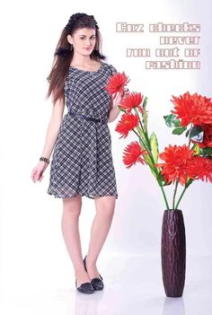 #Vyomini - #FashionForTheBeautifulIndianGirl #MakeInIndia #onlineshopping #Discounts #Women #Style #Western  #OOTD #Dress only Rs 1053/, get Rs 278/ #CashBack  ☎+91-9810188757 / +91-9811438585