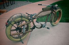 Big Vintage Bicycle CONDOR Fat Tire Beach Cruiser fat bike oldschool cruiser…