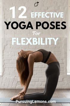Improving your flexibility can help to prevent body injuries and reduce body aches. Try out these effective yoga poses for flexibility to improve your lifestyle! Best Workout Songs, Workout Music, Fun Workouts, Fitness Tracker, Fitness Motivation, Ultimate Workout, Cool Yoga Poses, Yoga For Flexibility, Yoga Routine