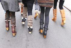 no 6 shearling boots