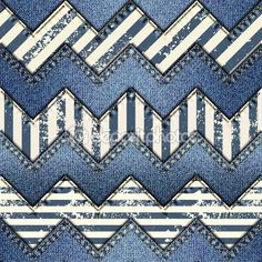 Лоскутное одеяло из джинсовой ткани — стоковая иллюстрация #72500733