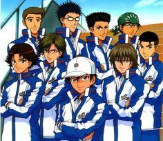 prince of tennis seigaku team - Google Search