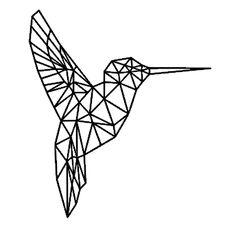 ideas for origami tattoo love tat Origami Tattoo, Tape Art, Geometric Bird, Geometric Drawing, Geometric Shapes, Geometric Tattoos, Geometric Hummingbird Tattoo, Geometric Tattoo Animal, Hummingbird Symbolism