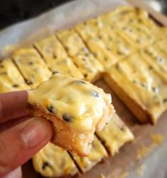 A rich, chewy base beautifully contrasted with a fresh passion fruit buttercream. Tray Bake Recipes, Sweets Recipes, Baking Recipes, Desserts, Biscuit Cake, Biscuit Recipe, Sweet Cookies, Sweet Treats, One Egg Recipe