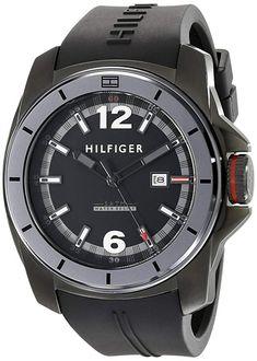 326e669415c Tommy Hilfiger Men s 1791114 Cool Sport Black Watch Tommy Hilfiger Watches