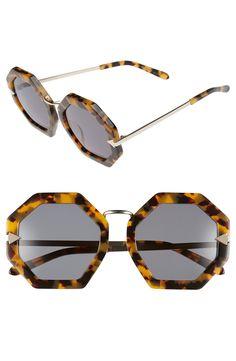 7d60f9ac7d9  Moon Disco  Octagonal 53mm Sunglasses