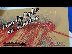 BolilloTutorial: Paso de Ondas en las esquinas de los abanicos Raquel M. Adsuar Bolillotuber - YouTube