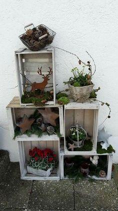 Auf der Suche nach schönen Dekorationen für in Haus? Legen Sie los mit kostenlosen Materialen aus der Natur… 8 Schöne Ideen! - DIY Bastelideen