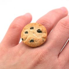 Tiny Hands Scented Chocolate Chip Cookie Ring