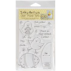 I'm learning all about Stampers Anonymous HPOP-11030 Honeypop Clear Stamp Set-Easter Chick at @Influenster!