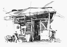 KaKi Creation » Blog Archive » KKCN13-PRT004-003_A Grocery in Sia Boey Market