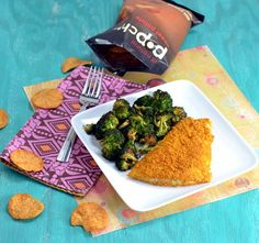 curried sweet potato-crusted fish by @caralyons