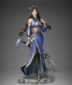 Cai wenji's new look for dynasty warriors 9