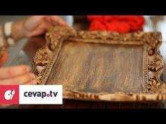 Ahşap boyamada antik eskitme tekniği nasıl uygulanır? - YouTube