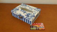 Caixa para lenços de papel