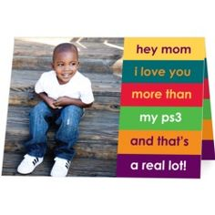 Personalized Mothers Day cards  #emealslovesmom  #contest