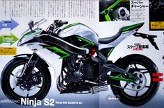 Kawasaki Ninja S2 - 650 cc supercharged parallel-twin engine - xxDxx