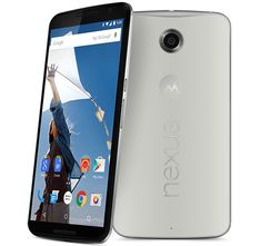 Nexus 6 Google Nexus 6  Qualcomm Snapdragon 805 3 GB / 32 GB Tamaño de la pantalla 5,96'', 2560 x 1440 píxels (493 ppp) D 3220 mAh 159,3 x 83 x 10,1 mm No 13MP / 2MP LTE: Sí