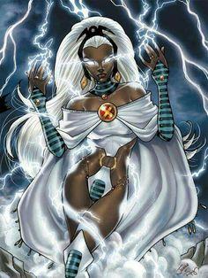 Storm #blackwomen  #blackfantasyart