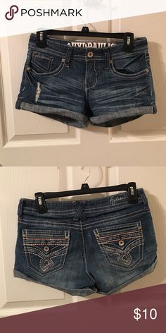 Blue Jean Shorts Blue jeans shorts! Perfect condition! Shorts