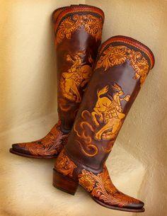 Rocketbuster Handmade Custom Boots | Boots a-z | Texas