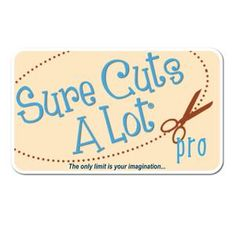 """""""Sure Cuts A Lot"""" is an easy to use software, which allows you to cut virtually any shape with various electronic cutting machines, including GCC, Graphtec, Silhouette SD/CAMEO/Portrait and many more. Truetype Fonts, Commercial Signs, Swing Design, Oracal Vinyl, Transfer Tape, Vinyl Cutter, Vinyl Crafts, Embroidery Files, Adhesive Vinyl"""