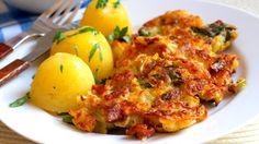 Kapustové (kelové) placky | Vaření s Tomem