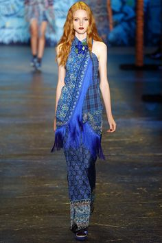 【ρinterest: LizSanez✫☽】  #NYFW Anna Sui Spring 2016 Ready-to-Wear Fashion Show