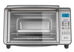 BLACK DECKER Digital Convection Countertop Toaster Oven, Includes Bake Pan, Broil Rack Toasting Rack, Stainless Steel Digital Convection Toaster Oven -- Read more at the image link. Countertop Oven, Countertops, 6 Slice Toaster, Toaster Ovens, Black And Decker Toaster, Stainless Steel Oven, Best Black, Cooking Utensils, Funny