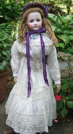 """RARE 28"""" Jumeau PORTRAIT French Fashion Doll - Layaway!"""