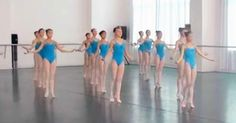 Young Chinese girls at the Xiaopei Chinese Summer Dance Camp ... Wow!