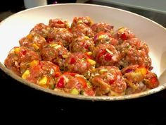 Jednogarnkowe klopsiki z warzywami - Blog z apetytem Ratatouille, Finger Foods, Food And Drink, Cooking, Ethnic Recipes, Blog, Dinners, Diet, Chef Recipes