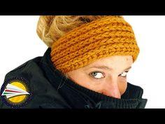 Fejpánt horgolása | szép és egyszerű minta kezdő horgolóknak | remek ajándékötlet | horgolóiskola - YouTube Learn To Crochet, Diy Crochet, Crochet Stitches, Crochet Patterns, Knitting For Beginners, Loom Knitting, Small Gifts, Bandana, Crochet Projects