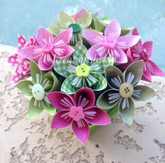 Hey, I found this really awesome Etsy listing at https://www.etsy.com/listing/164015277/garden-of-eden-kusudama-origami-flower